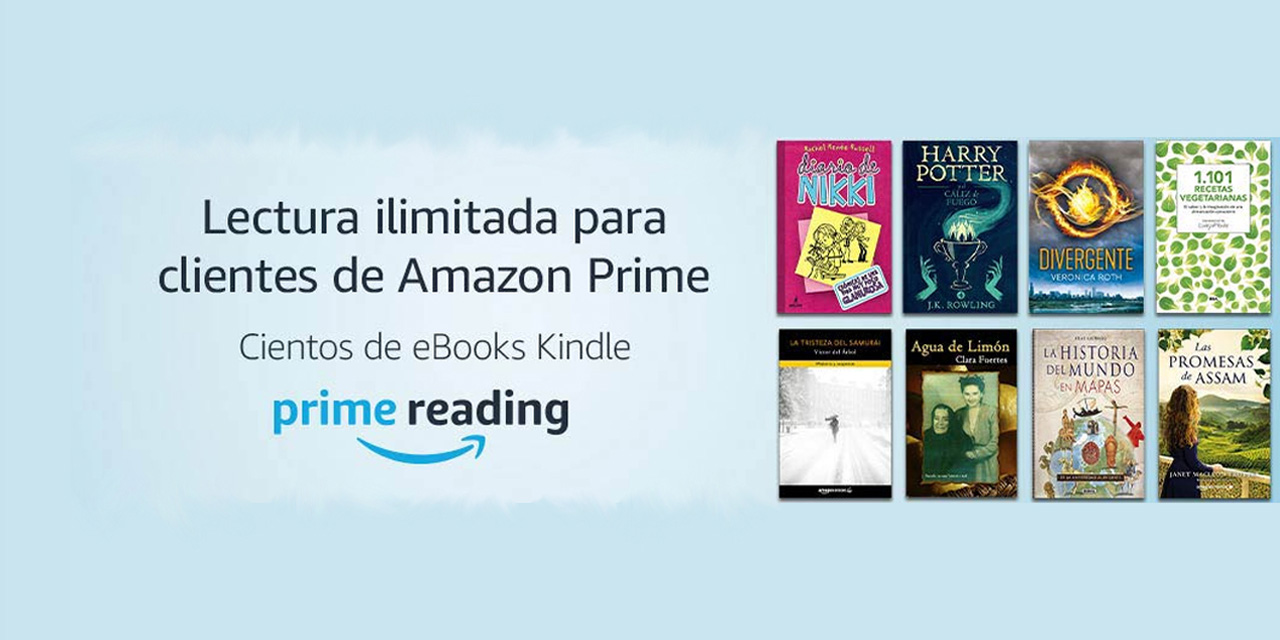 Descargar libros gratis de Amazon Prime